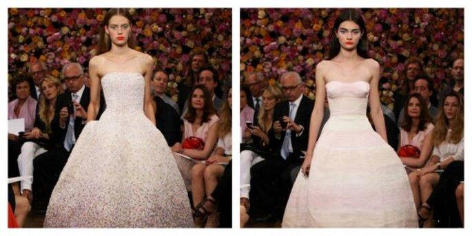 Wie aus einem Märchen aus den 50er-Jahren – die Dior Haut Couture-Kollektion 2013 – Foto: Dior via facebook