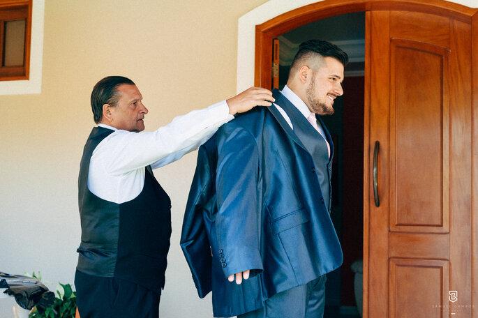 Traje do noivo: Uomo | Foto: Samel Campos Fotografia