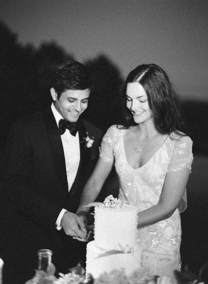 Sara + Shiv´s Wedding, Image: Jose Villa Photography