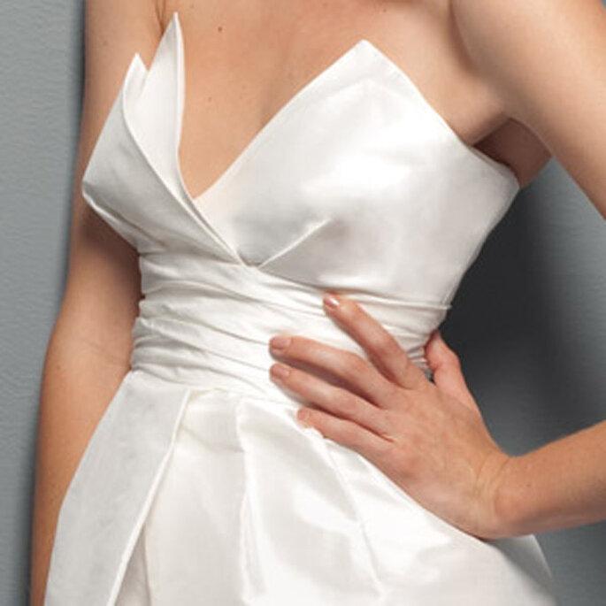 Robe de mariée Les privées Cymbeline 2011 - Ebane, en détail
