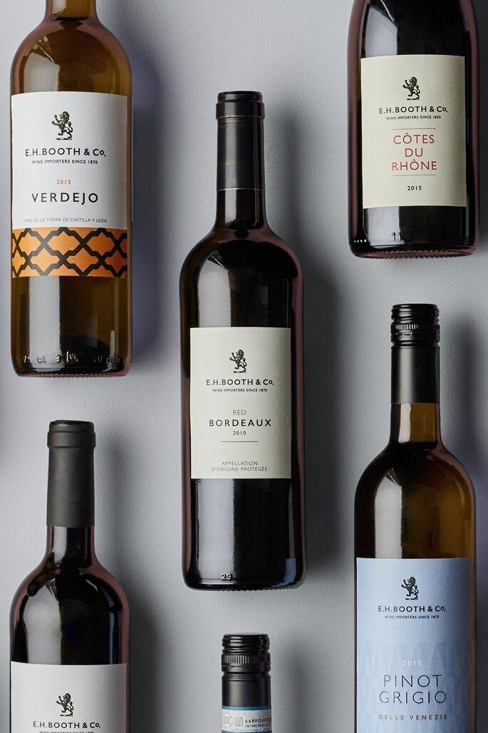 Die perfekte Weinauswahl zum Hochzeitsmenü