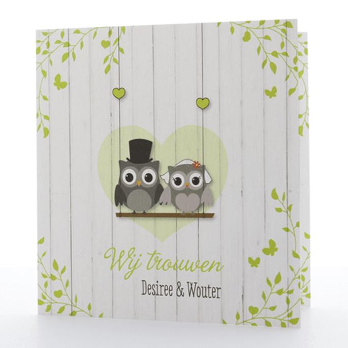 Foto: Card XL- Bruiloft uitnodigingen