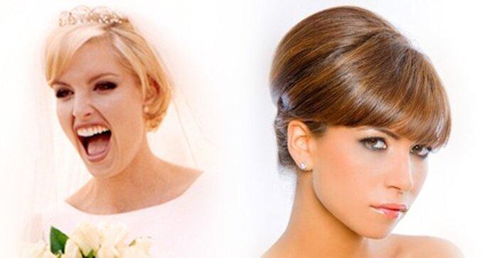 Brautfrisuren für kurze haare mit pony collage catharina freeman