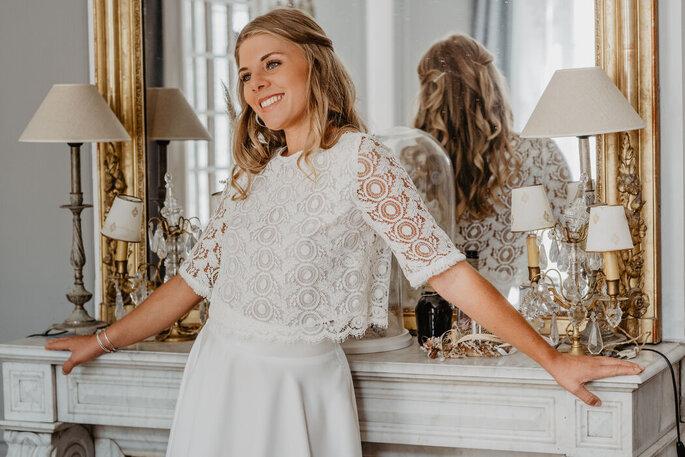 Christelle Vasseur Couture - Créatrice de robe de mariée - Podensac