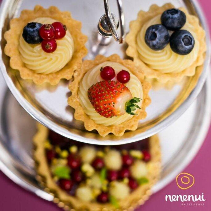Doces com frutas para casamento