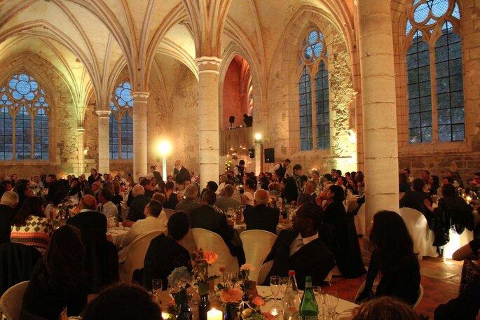 Abbaye de Reigny - lieu de réception pour votre mariage - Bourgogne