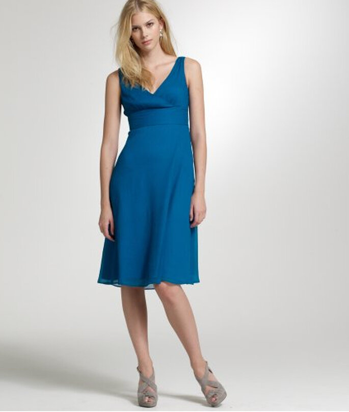 J.Crew Silk Chiffon Sophia Dress, $165.
