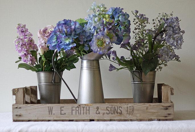 Opciones de arreglos florales para tu boda en el verano. Foto: The Wedding of my dreams