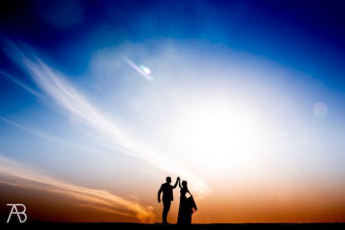 foto artistica casamento