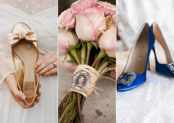 tradiciones de boda - algo nuevo, algo viejo, algo azul y algo prestado