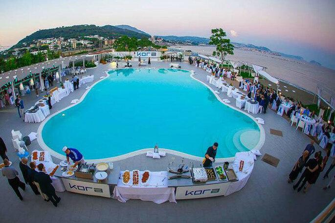 Kora Events - piscina e catering