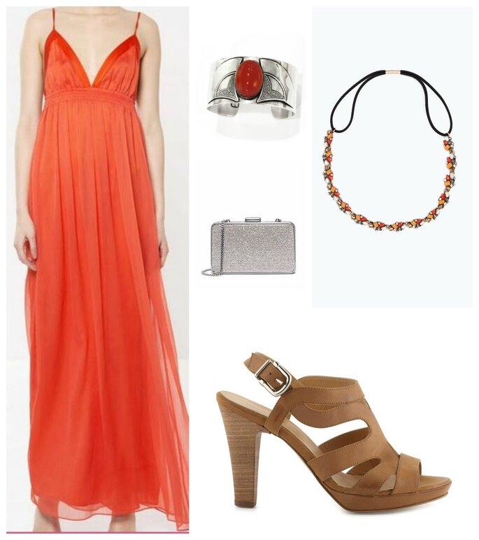 Robe : Les petites / Chaussures : Minelli / Sac : Michael Kors / Headband : Zara / Bracelet : Libertie is my Religion