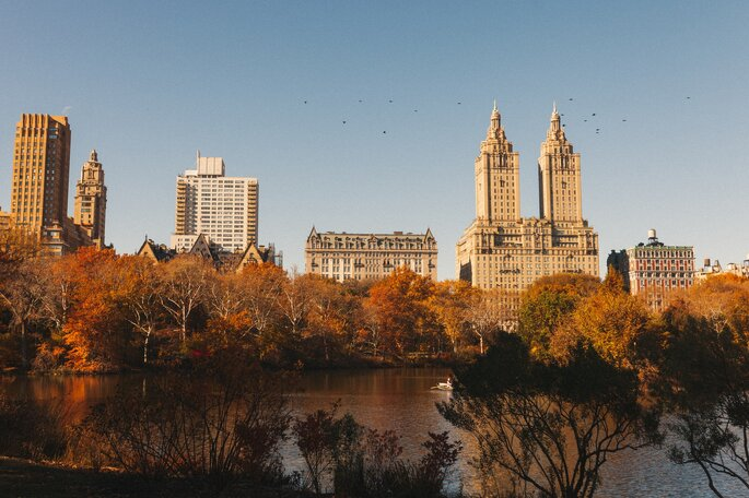 Central Park New York Herbst