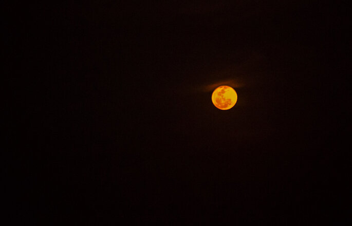 Lua final de noite