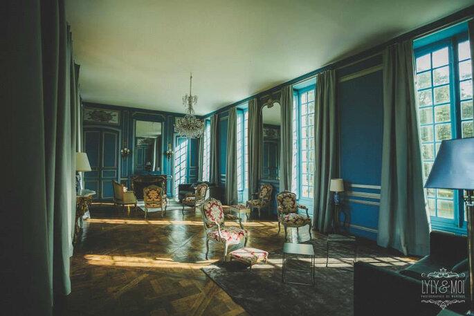 Salle de réception du Château de Neuville