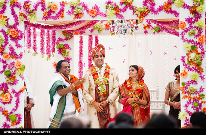 Tendencia Bollywood en bodas - Foto Andrena Photo