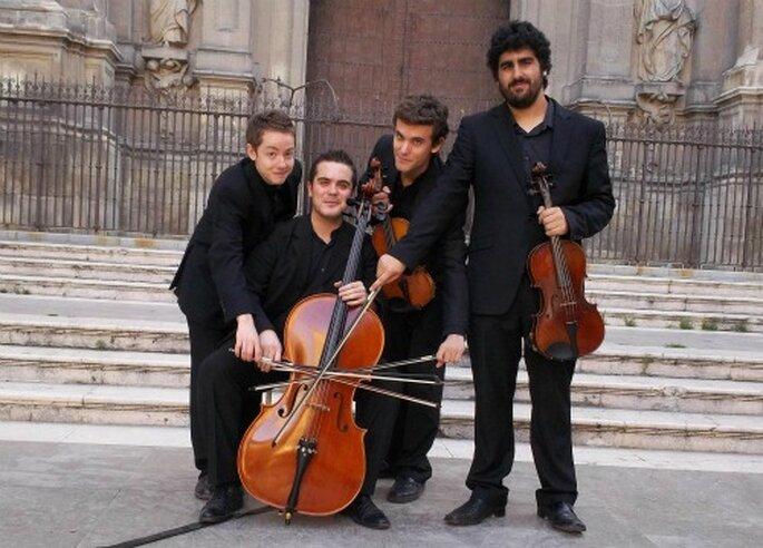 Música clásica para tu boda, Cuarteto Q4- Foto: Cuarteto Q4