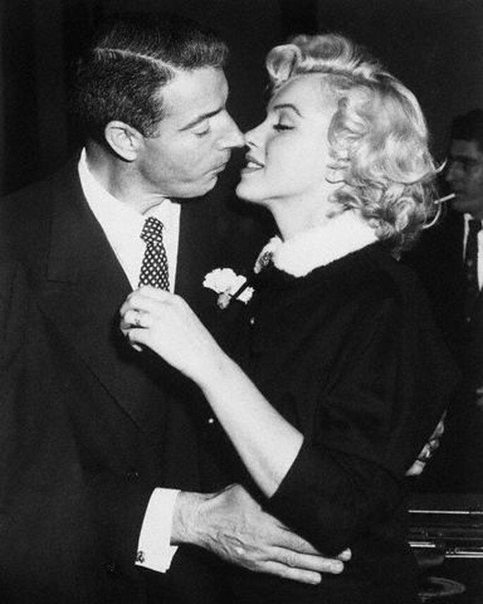 Boda de Marilyn Monroe y Joe DiMaggio
