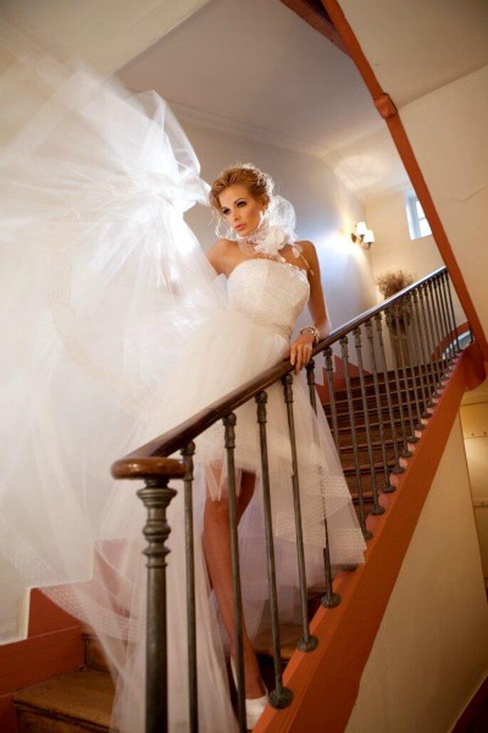 Robe de mariée Oksana Mukha - Modèle Leila