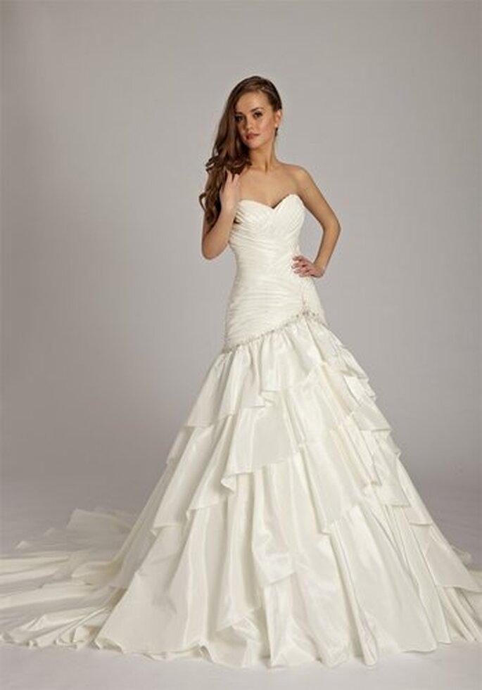 Brautkleid von Lisa Donetti in A-Linie