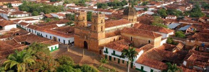 Vista panorámica de Barichara. Foto: Facebook - Barichara turismo