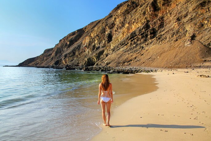 Playa La Mina. Créditos: Don Mammoser vía shutterstock