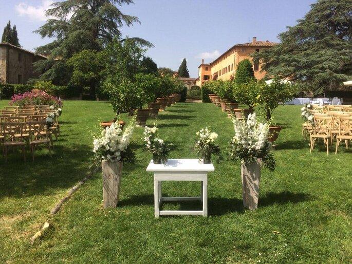 Piante Romagnoli - Décoration mariage - Italie, Florence