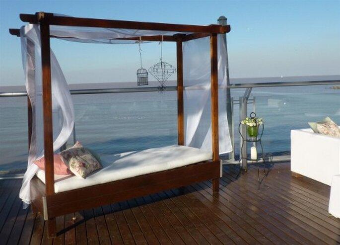 Deco de bodas al aire libre - El Marques Deco