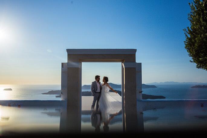 ensaio casal na grécia