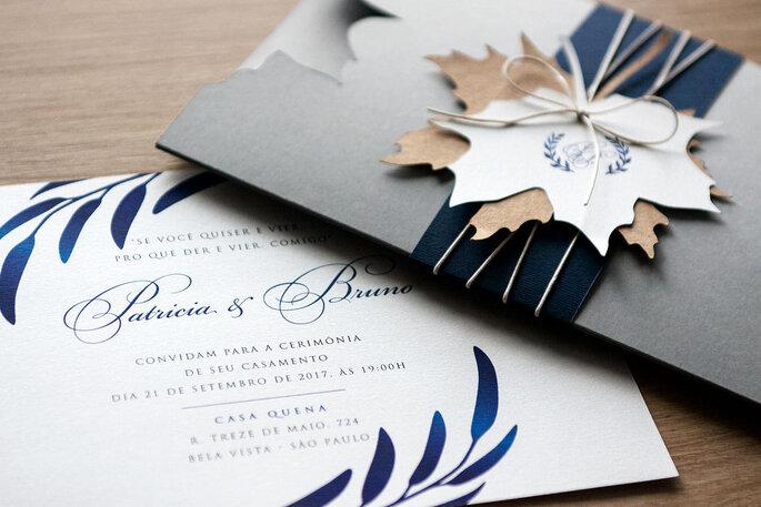 Envelopes para convite de casamento