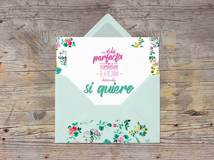 Bodas date el pego invitaciones de boda Valladolid