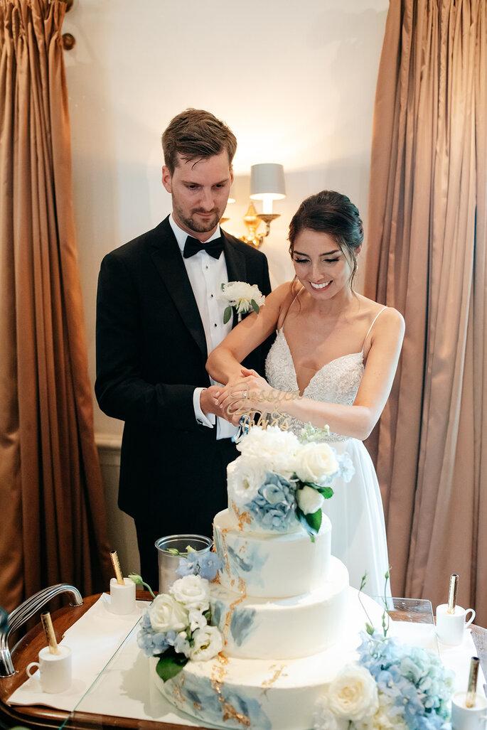 wed&dings Hochzeitstorte