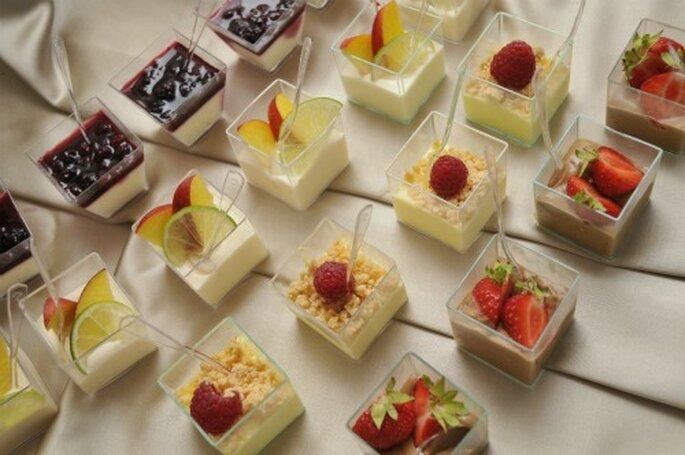 Vari semifreddi come dolci alternativi alla wedding cake! Foto New Image Officina d'Immagine