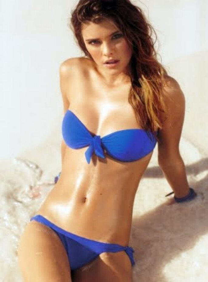 Bikini estilo bandeau