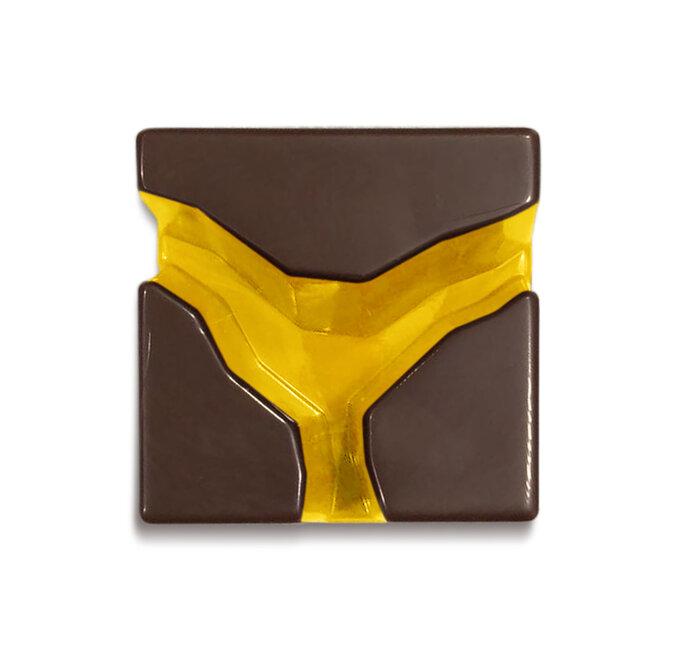 Praline di oro e cioccolato architettate da Davide Comaschi