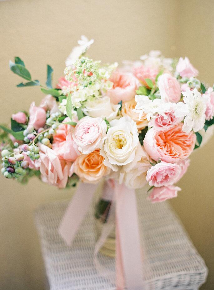 Romántico color blush -Coco Tran