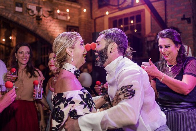 casamento com inspiração vintage e circense