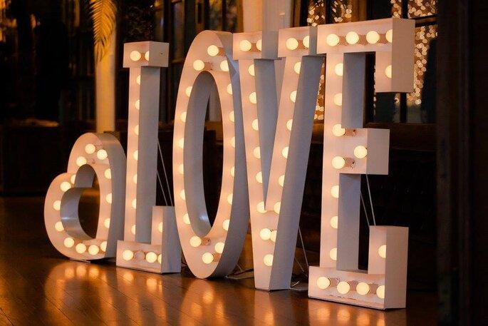 Luminosos para casamentos