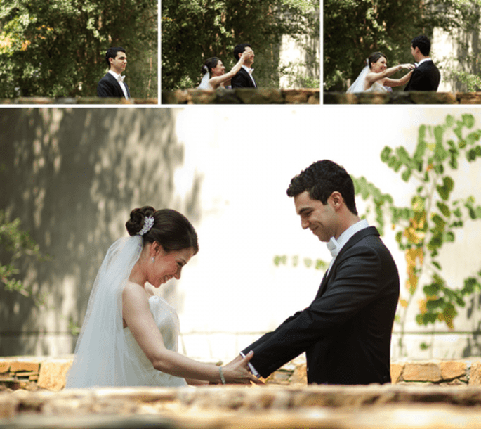 No ver a la novia antes de la ceremonia religiosa - Foto Pepe Orellana
