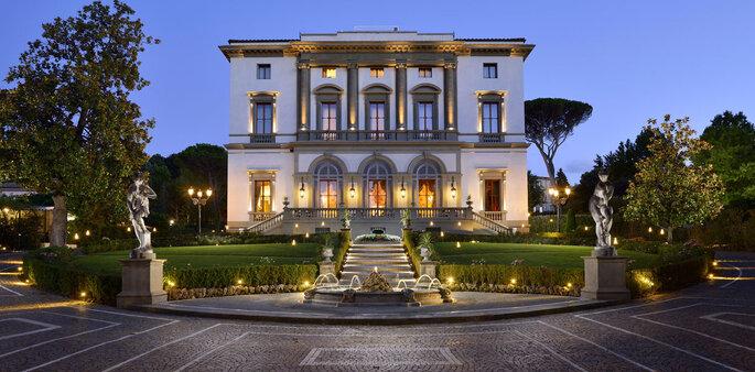 Grand Hotel Villa Cora. Foto: divulgação