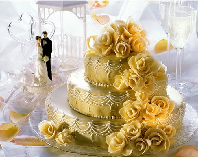 Anniversario Matrimonio Toscana : Torta di nozze foto