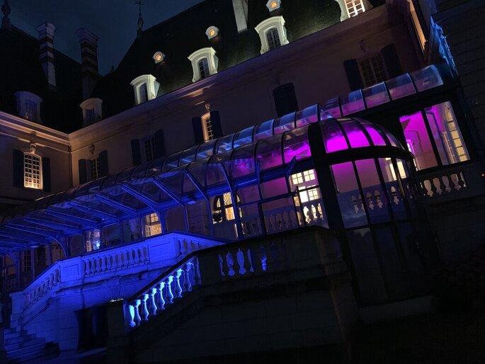 Lumières, sons et éclairage pour une soirée de mariage avec une bonne ambiance
