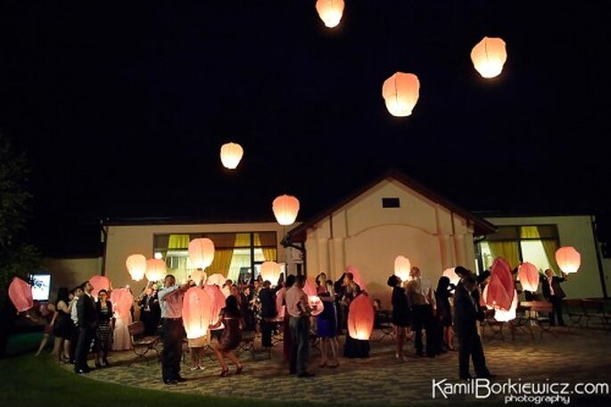 Ideas inovadoras para boda. Foto de Kamil Borkiewicz.