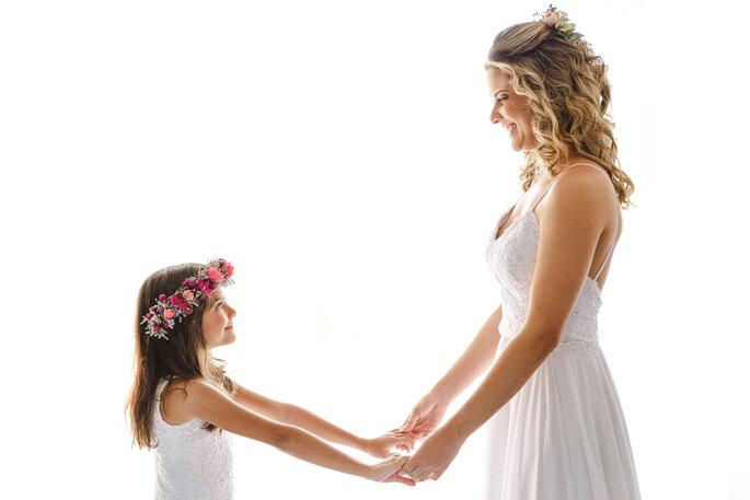 Vestidos noiva e daminha: Atelier Lindalva Pezzano - Foto: Alexandre Rechtman