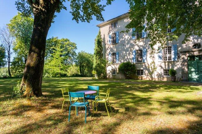 Le Château de Saint-Félix - Lieu de réception pour un mariage champêtre - Gard