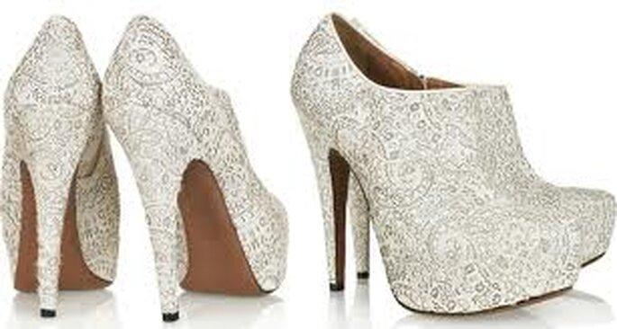 Sapatos para noivas - www.bloglovin.com