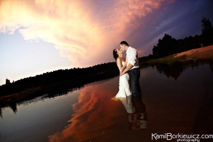 Fotografía artística para boda. Foto de Kamil Borkiewicz.