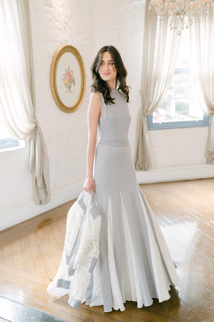 vestido do noiva moderno