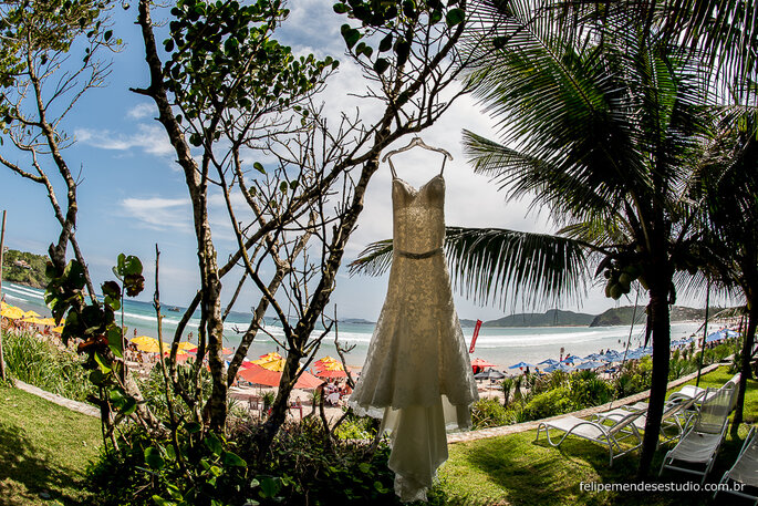Vestido: Mori Lee by Madeline Gardner | Foto: Felipe Mendes Estúdio