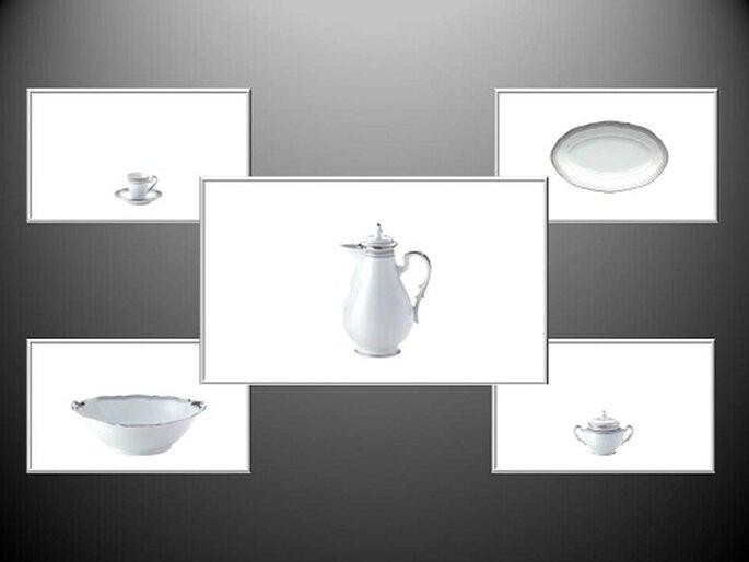 La collezione tavola Museo con decoro flirt. Foto: products.richardginori1735.com